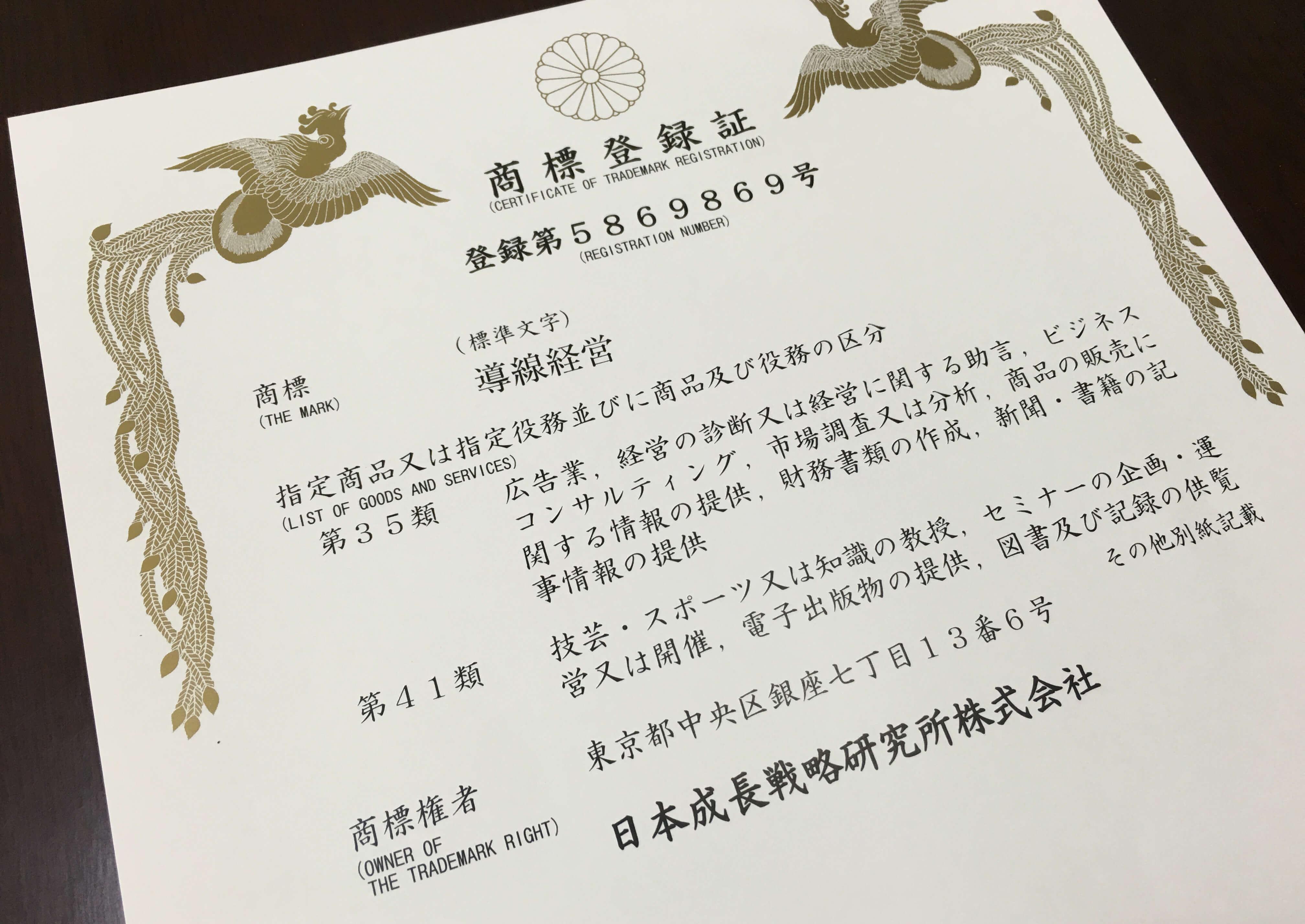 """日本で唯一、集客の仕組み、営業・販売の仕組みが商標登録""""導線経営""""コンサルティング"""