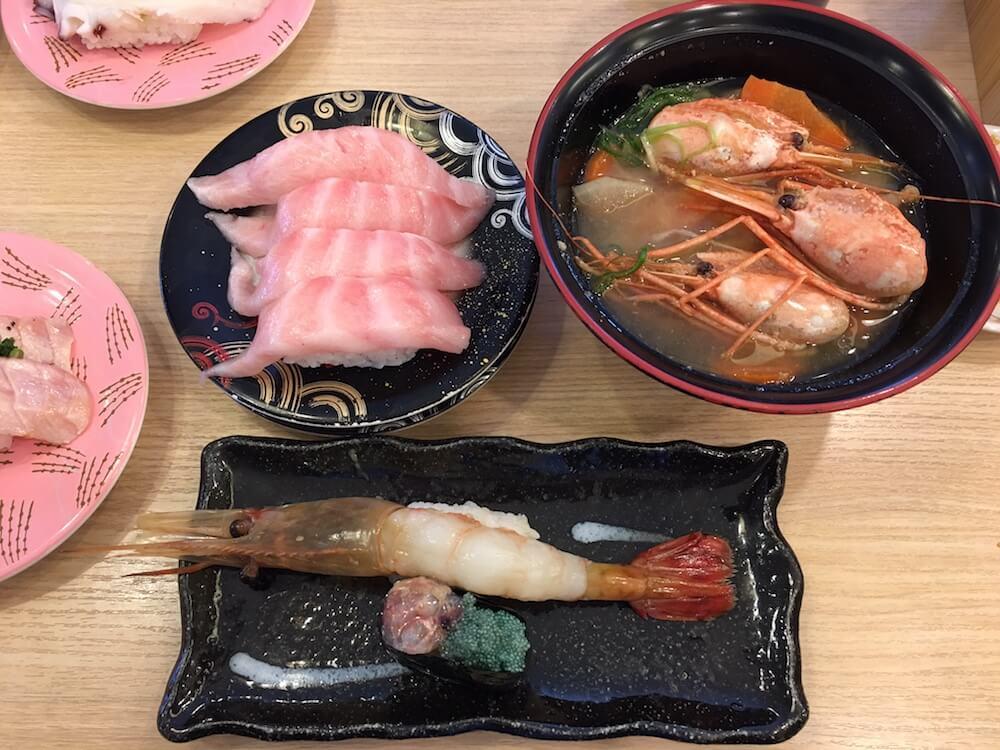 回転寿司トリトン北海道北見店